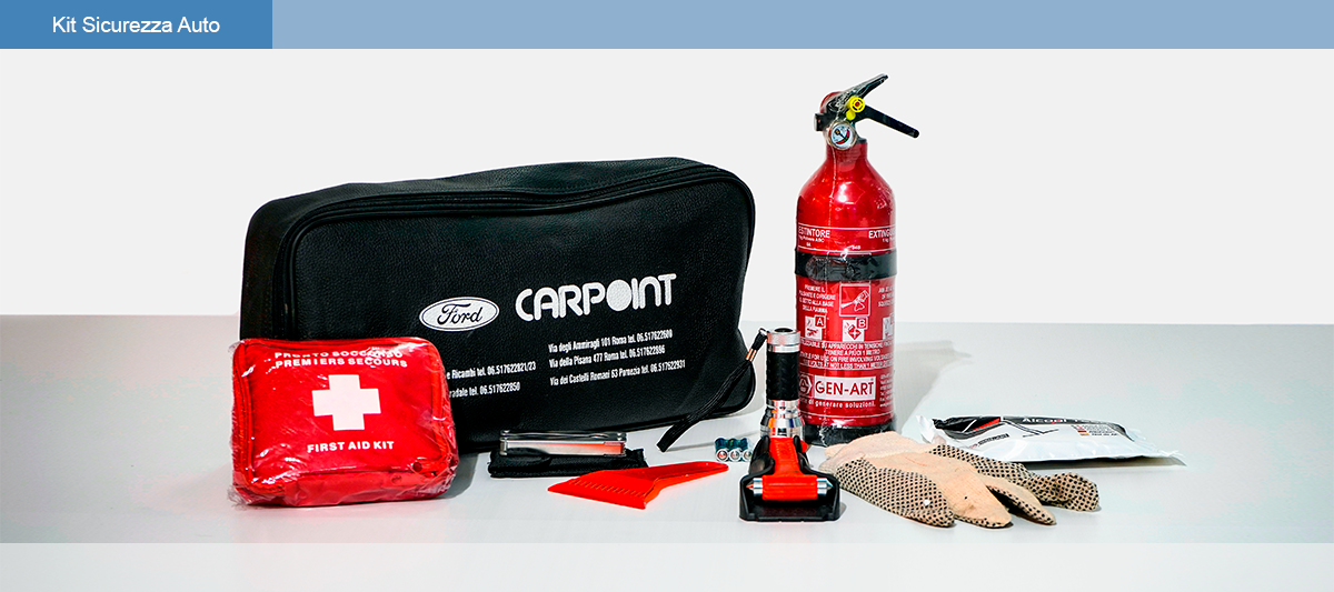 Kit Sicurazza Auto Carpoint Desktop