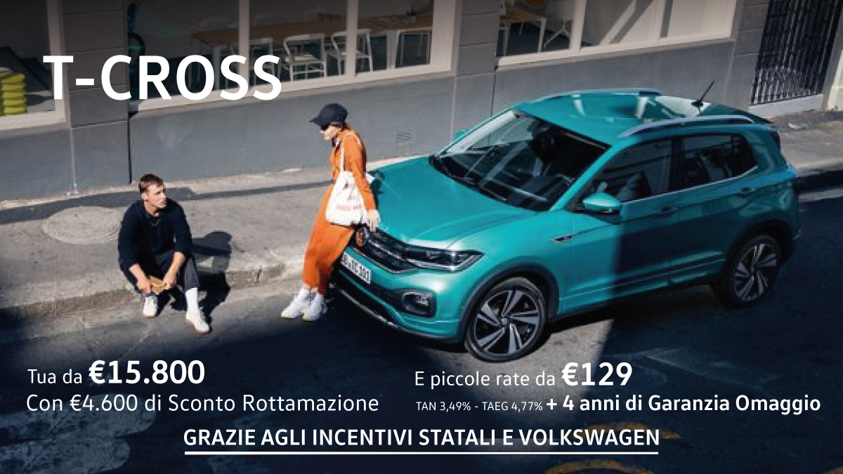 T-Cross in Promo