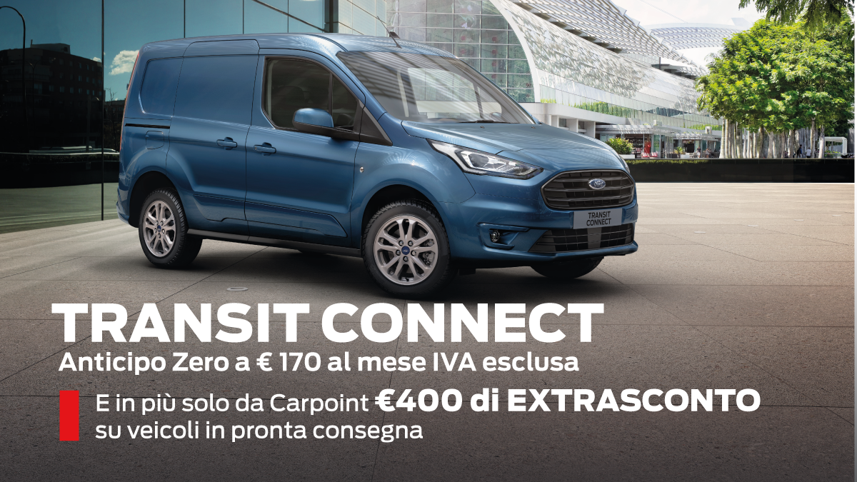 Transit Connect Speciale Pronta Consegna