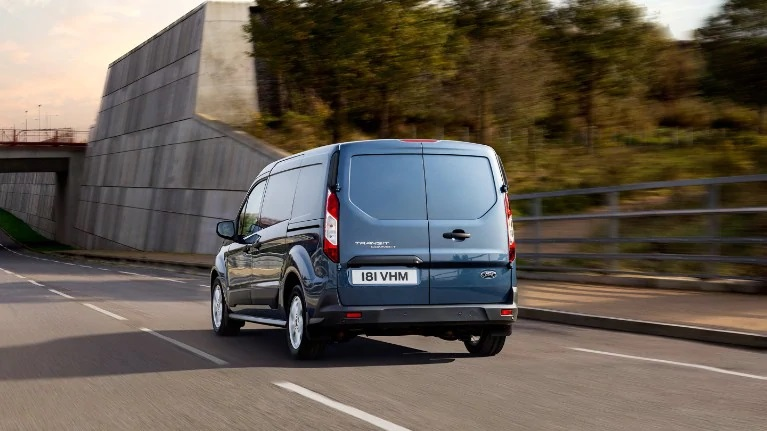 Ford Transit Connect Posteriore