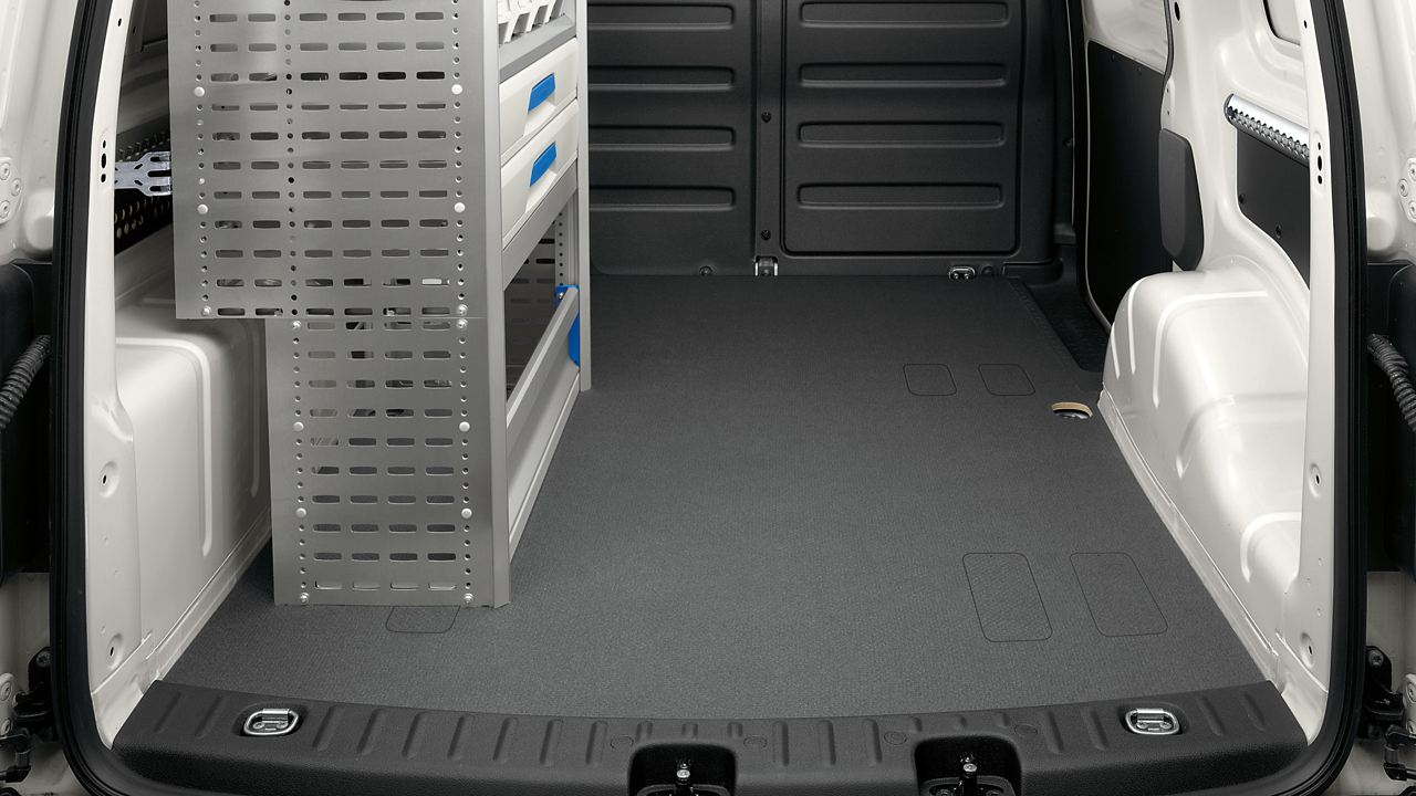 Cdc0575 Vw Caddy Commercial Delivery Van Universal Floor 16X9 2560X1440