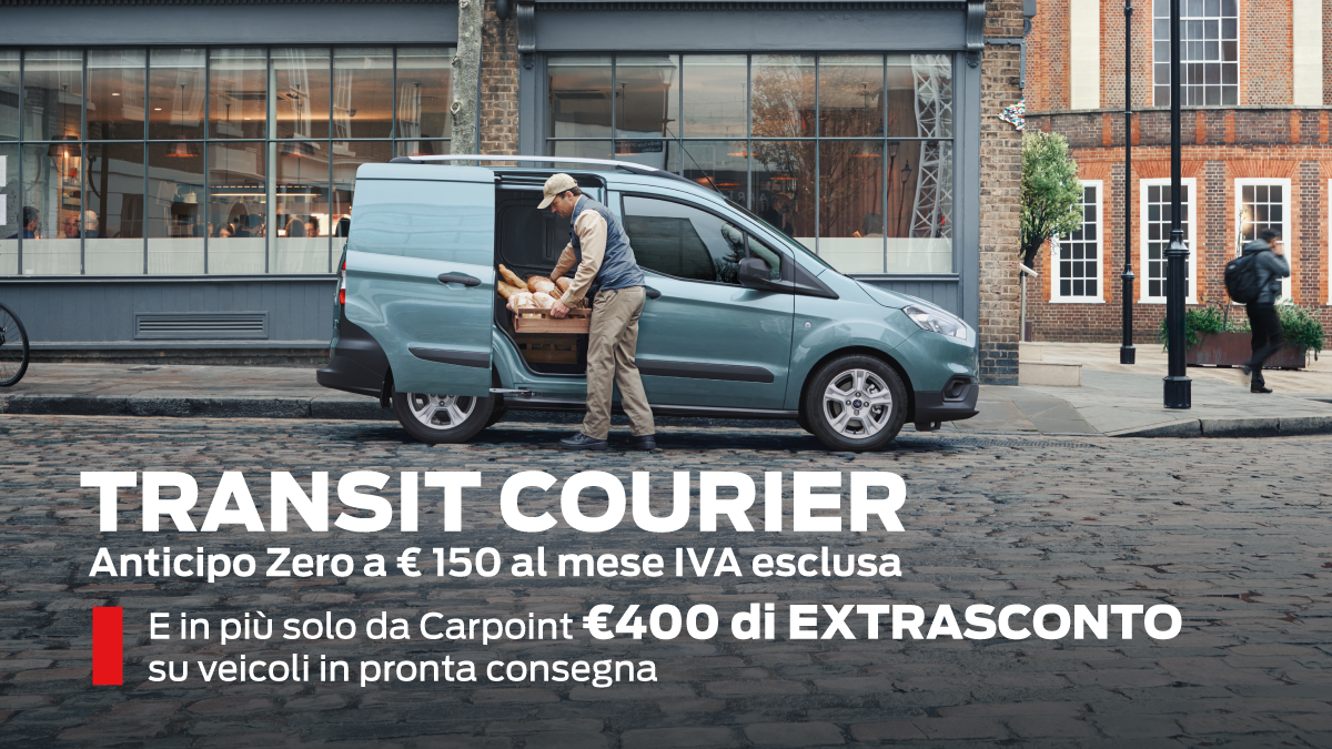 Transit Courier Speciale Pronta Consegna