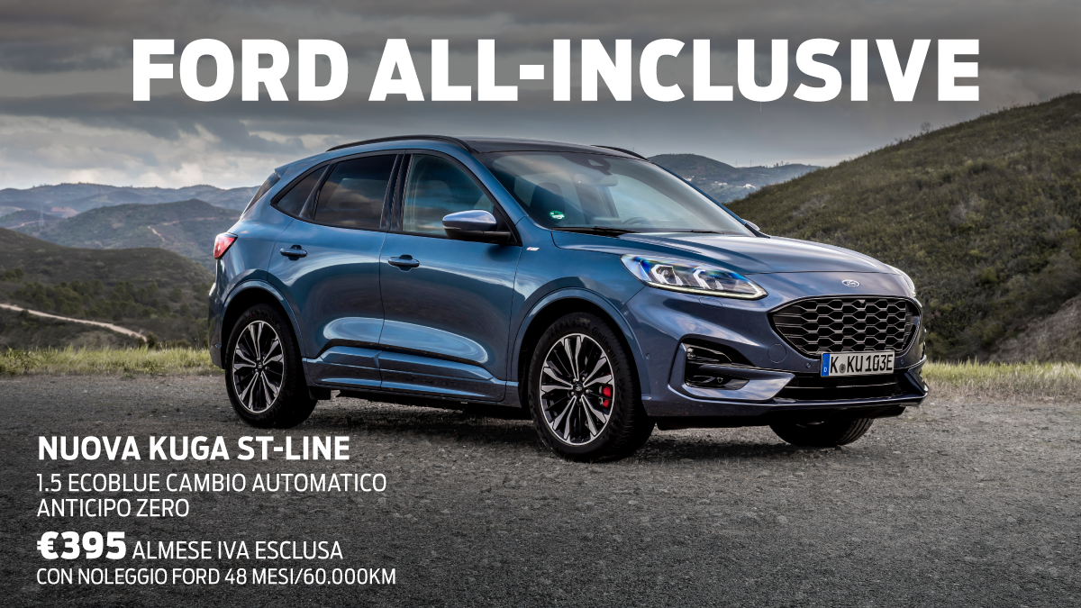 Ford All-Inclusive: Speciale Ford Kuga
